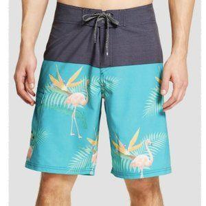 Ocean Current Men's Board Shorts Flamingo sz 32
